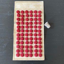 boutons soie 19e
