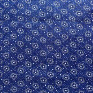 Fermière bleue coton vintage 50'