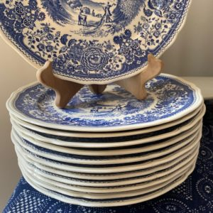 assiettes plates