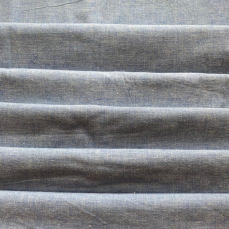 toile coton vintage bleue
