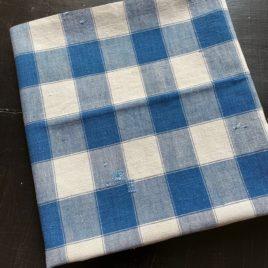 coupon de Kelsch ancien carreaux bleus
