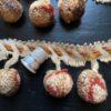 Pompons tricolores